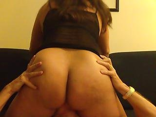 Chained up Asian wife