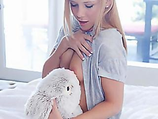 Bunny Comes To Life With A Big Dick Attached To Him