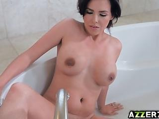Seductive Wife Danica Dillon Called A Hot Plumber To Fix Her Faucet And Got Pounded By His Giant Dick Too She Loves Fucking His Massive Dick All Over Her Bathroom And Loves The Taste Of His Jizz On Her Face