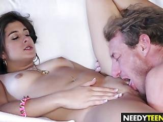 Teen Natalie Monroe Gets Her Pussy Drilled