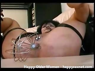 Using A Pervert Granny. Amateur Older