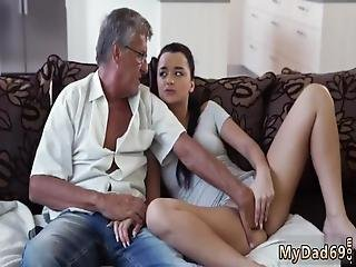 Skinny Teen Old Guy And Daddy Takes The Blame What Would You Choose -