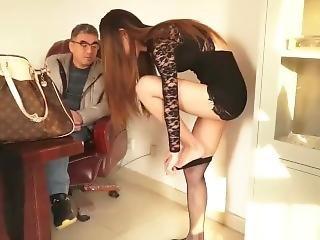 Chinese Girls Wear Stockings Sexy Sm