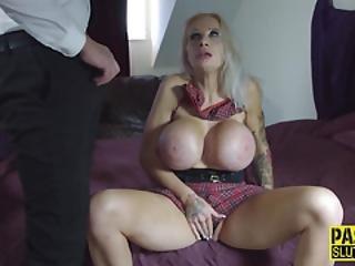 Huge Tit Whore Bdsm Gags