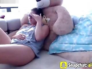 Horny Big Tits Wife Licking Pussy And Cumming Together