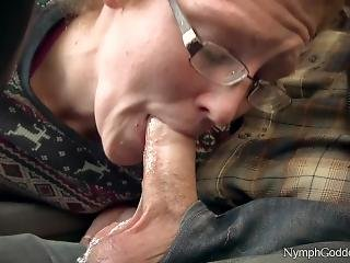 Red Head Milf Ivy Sucking Off Hubby In Public Parking Lot