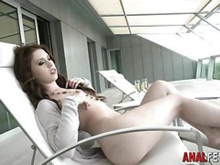 Anal Slut Gags On Dick