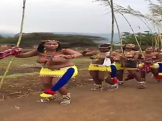 Topless Busty Zulu Women