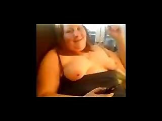 Exwife Flashes Her Tits