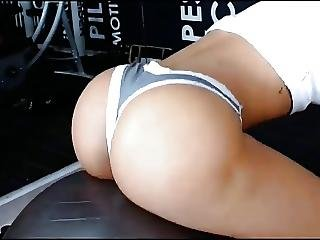 Art, Ass, Babe, Butt, Fat, Latina, Spanish, Sport, Workout, Workplace