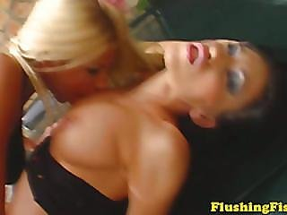 Fisting Lover Clara G Outdoor Playing