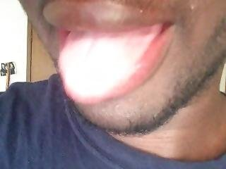 My Drooling Tongue Vid 2 For That Day...