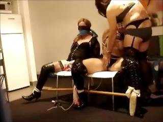 2 Girl Tied