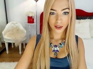 блондинка, камерой девушка, Веб-камера