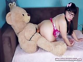 Play Time With Kiwwi - Teddy Bear Fuck