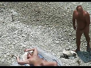 Cuckold Bitch At The Beach