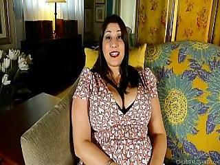Beautiful Busty Bbw Brunette Talks Dirty And Fucks Her Fat Juicy Pussy