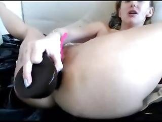 Anal Sex With Big Dildo Hard Fucking