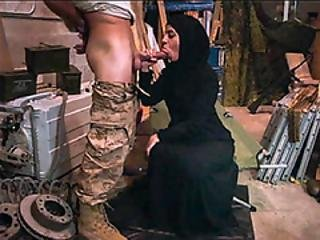 Middle Eastern Slut Sucking Off The American Pipe Dreams