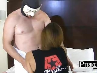Horny Tourist Takes Phillipinne Slut To His Hotel For Some Smashing