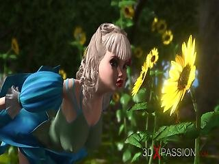 Minotaur Fucks Hard Beautiful Young Fairies In Mysterious Magic Forest
