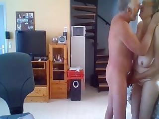 Amateur Old Couple