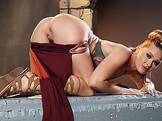 Pretty Hot Captive Abby Cross Fucked Hard In The Ass