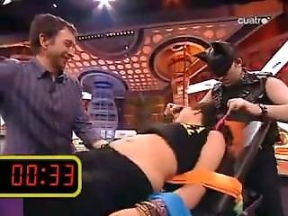 Tickling On A Tv Show