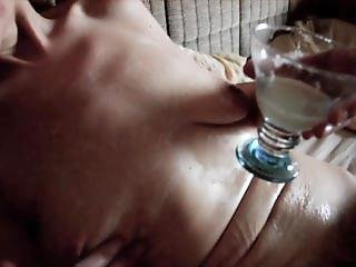 Claudia Cum Body Lotion And Sperm Massage