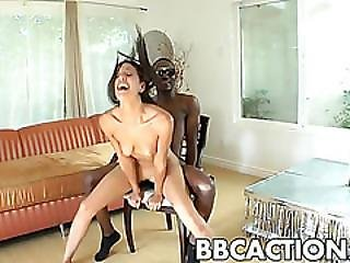 Slamming Lyla Storm In Ass And Pussy