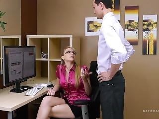 Secret Office Slut Part 1 Of 2 Katie Banks Job Is On The Line