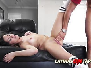 Curvy Cheerleader Gets Her Pussy Fucked By Her Boyfriend