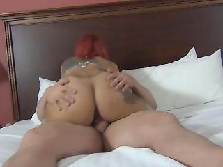 Big Booty Latina Gets A Hard Fuck Creampie