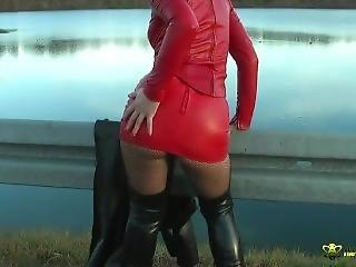 Leather Fetish Model