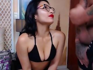 Allisonandnik Colombian Blowjob, Fuck, And Facial (chaturbate 11-16-18)