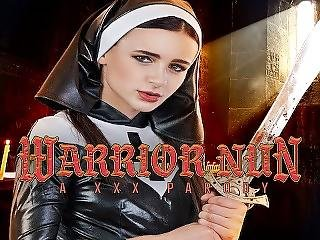 Petite Warrior Nun Is Begging For Your Dick