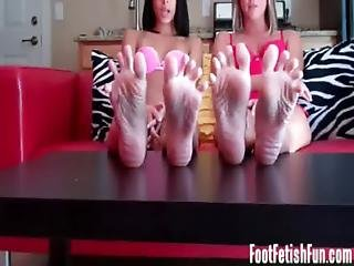 You Know You Love Worshiping Our Perfect Feet