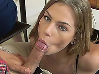Milf Slut Cory Chase Sharing Cock With Her Teen Stepdaughter Sydney Cole