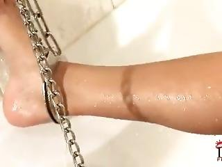 Cuffed In The Tub