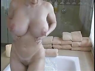 Milf With Huge Tits And Big Ass All Wet