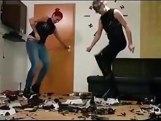 Fetish, Hakken, Hoge Hakken, Lesbisch