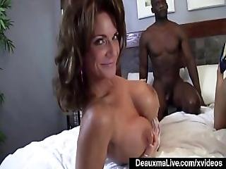 Mature Mommy Deauxma And Ashlee Chambers Share Big Black Cock