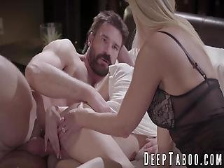 Stepmom India Summer And Teen Elsa Jean Fuck With Daddy