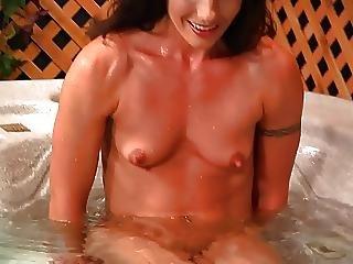 Jacuzzi, Lesbian, Pornstar, Young