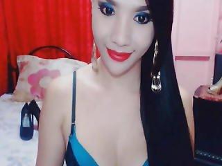 Hot Shemale Live Cam Masturbation