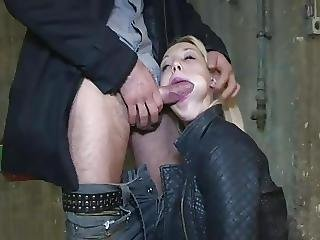 Blonde, French, Fucking, Outdoor, Park, Teen