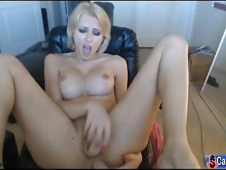 Sexy Cam Girl - Blonde Slut Is Feeling Horny Today