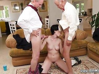 Innocent Teen Old Man And Old V Young Frankie Heads Down The Hersey