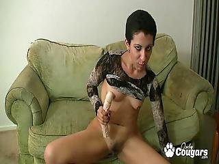 Ugly Mexican Chick Kinky Gaga Shows You Her Hairy Pussy So You Can Wack It - Joi