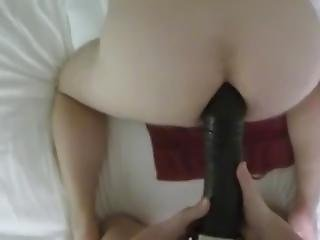 Strapon Fuck With A Big Black Cock Dildo Pov